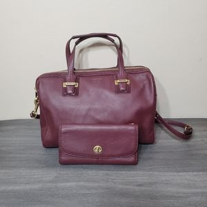 Coach Taylor Satchel and wallet